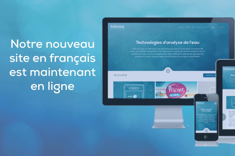 Bienvenue sur notre nouveau site internet en français