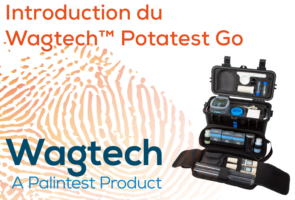 Introduction du Wagtech™ Potatest Go