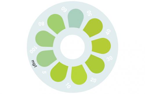 Disque pour comparateur couleur, molybdate, 0 - 100 mg/L