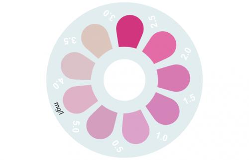Disque pour comparateur couleur, cuivre (Coppercol), 0 - 5 mg/L