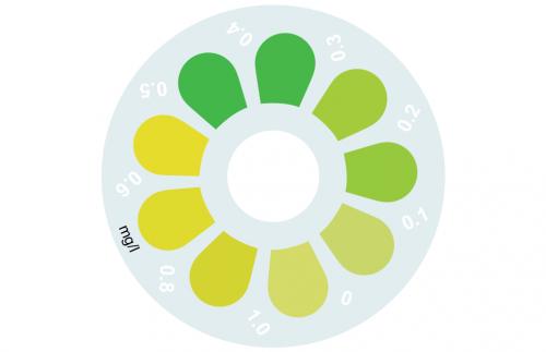 Disque pour comparateur couleur, ammoniac, 0 - 1 mg/L