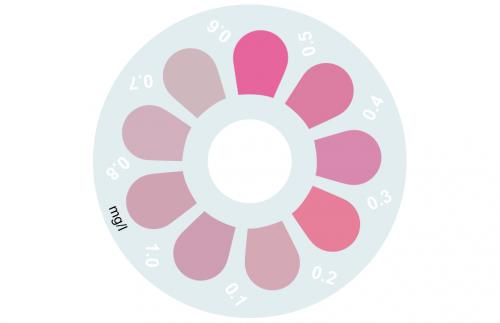 Disque pour comparateur couleur, ozone, 0 - 1 mg/L